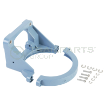 Whale underdeck diaphragm clamping ring bracket