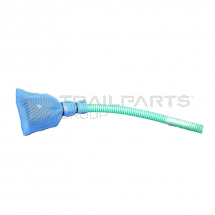 Welfare toilet suction pipe and filter box kit