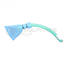 Welfare toilet suction pipe and filter bag kit