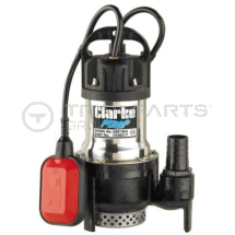 Submersible pump Clarke 230V 32mm 144l/m max head 7m