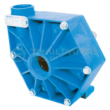 Blue polypropylene centrifugal pump 1.5inch F in/1.25inch F out