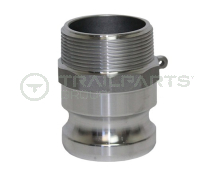 Cam coupler aluminium F150 1.5inch male thread/1.5inch male