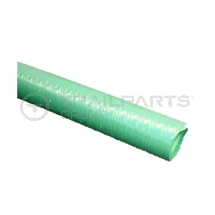 Green ribbed 1.25inch/32mm medium duty suction hose