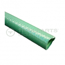 Green ribbed 1inch/25mm medium duty suction/discharge hose