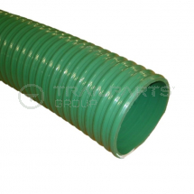 Green ribbed 4inch/100mm medium duty suction/discharge hose