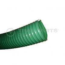 Green ribbed 3inch/75mm medium duty suction/discharge hose