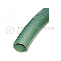 Green ribbed 2inch/50mm medium duty suction/discharge hose