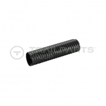 Suction/discharge hose black rubber flexible PVC 20mm