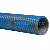 Blue/grey flexible PVC suction hose 4inch