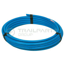 Blue MDPE poly pipe 25mm x 50m