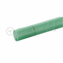 Green ribbed 0.75inch/20mm light duty superflexi suction hose