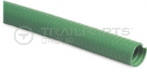 Green ribbed 1.5inch/38mm medium duty suction hose