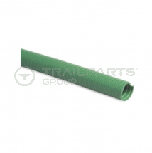 Green ribbed 1.75inch/45mm medium duty suction hose