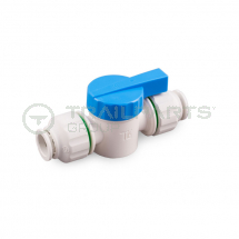 Push fit 15mm shut off valve