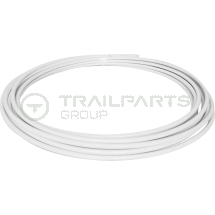 Plastic B-PEX barrier pipe coil 15mm x 25m white