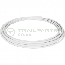 Plastic B-PEX barrier pipe coil 22mm x 50m white