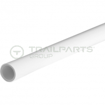 Plastic B-PEX barrier pipe 22mm x 3m white