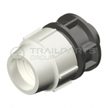 25mm blue poly - 1/2inchBSP male Plasson adaptor fitting