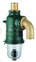 MZ siphon separator straight top inlet 50mm