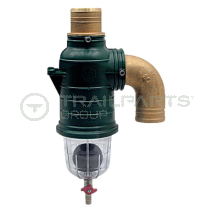 MZ siphon separator straight top inlet 60mm with drain off
