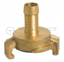 Commercial brass quick coupler hose tail 19mm