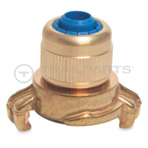 Commercial brass quick coupler /compression hose joiner 1/2inch