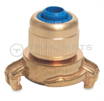 Commercial brass quick coupler /compression hose joiner 3/4inch