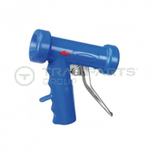 Pistol grip industrial spray gun c/w 1/2inch swivel hose tail