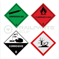 Hazard Warning Stickers