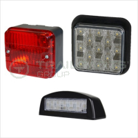 Fog, Reverse & Number Plate Lamps