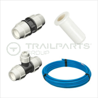 Blue MDPE Plasson Fittings