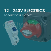 BOSS CABINS 12-240V Electrics